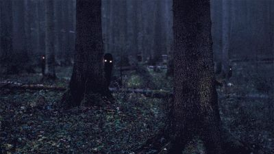 These incredibly creepy woodland figures.