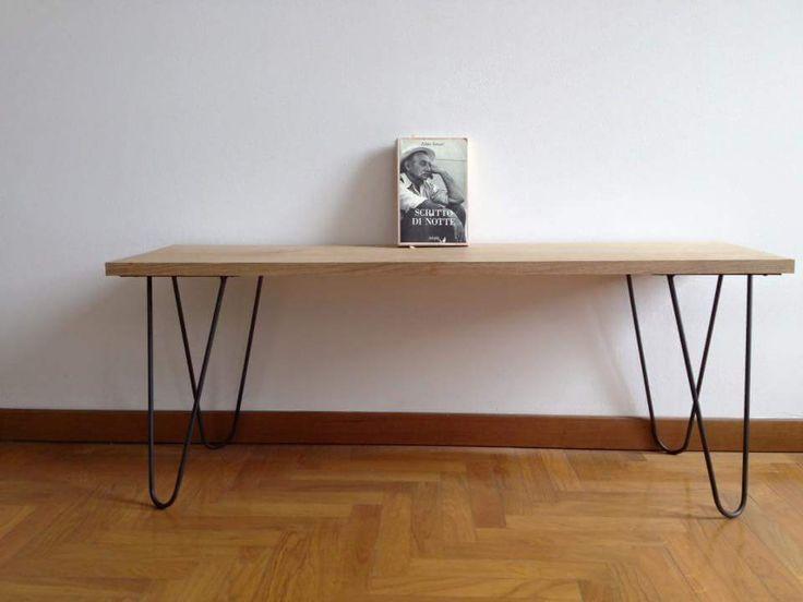 Table wood steel Tipi Studio