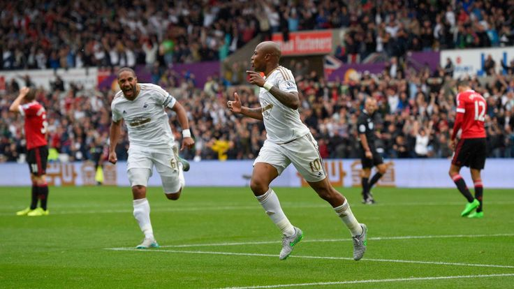 @Swansea It was deja vu for the Dutchman coach as Bafetimbi Gomis popped up with the winner to cancel out Juan Mata's opener, with summer signing Andre Ayew impressing once again #9ine