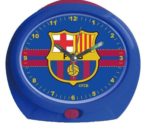 FcBarcelona Despertador Himno Ovalado - Despertador del FCBarcelona con los colores del FCBarcelona, lleva el escudo, ovalado. El despertador suena con el himno del Barça, levantareis a gusto. ideal para regalar a los fans del Barcelona Club Futbol.