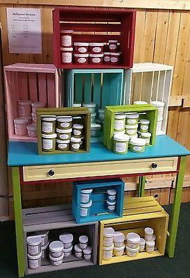 Hollywood Heirloom Restoration Paint #1 alternative to Chalk Paint Free SHIP!