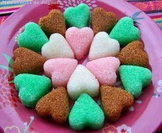 Terrones de Azúcar de Colores y Sabores