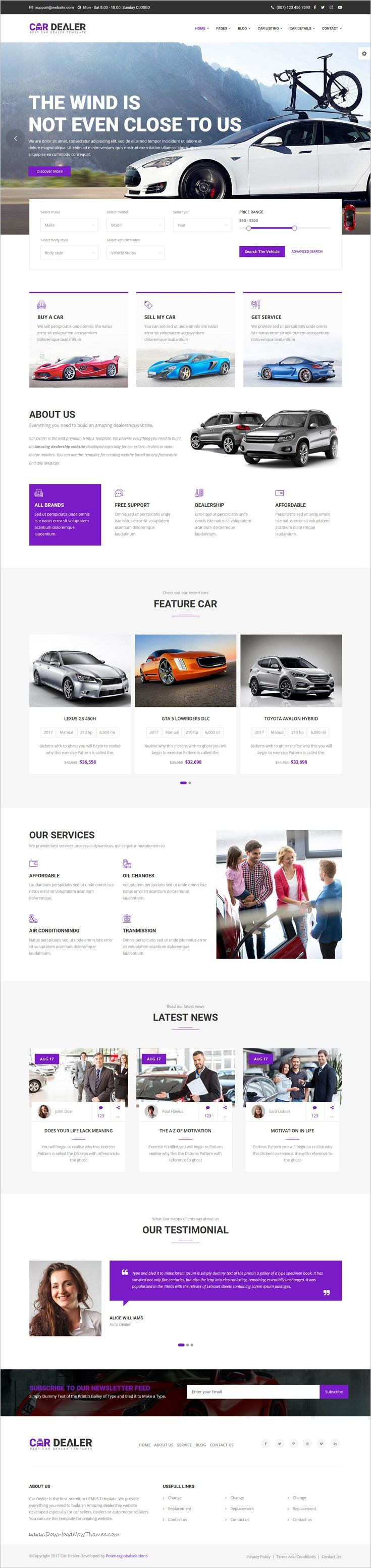 Car dealer is a wonderful #responsive 6in1 HTML5 bootstrap #template for best #car dealer #automotive websites with 4 unique animated sliders download now➩ https://themeforest.net/item/car-dealer-the-best-car-dealer-automotive-responsive-html5-template/19226545?ref=Datasata