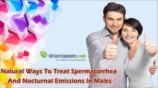 You can find more natural ways to treat spermatorrhea at http://www.nfcurecapsules.com/spermatorrhea-cure.htm