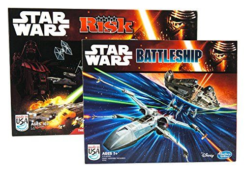 Maven Gifts: Battleship: Star Wars Edition Game with Risk: Star Wars Edition Game @ niftywarehouse.com #NiftyWarehouse #Geek #Products #StarWars #Movies #Film