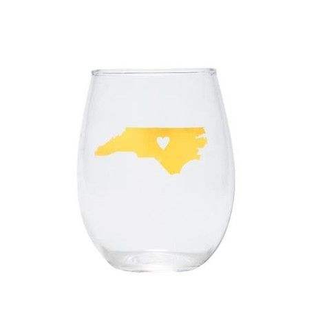 Stemless Wine Glass- NC