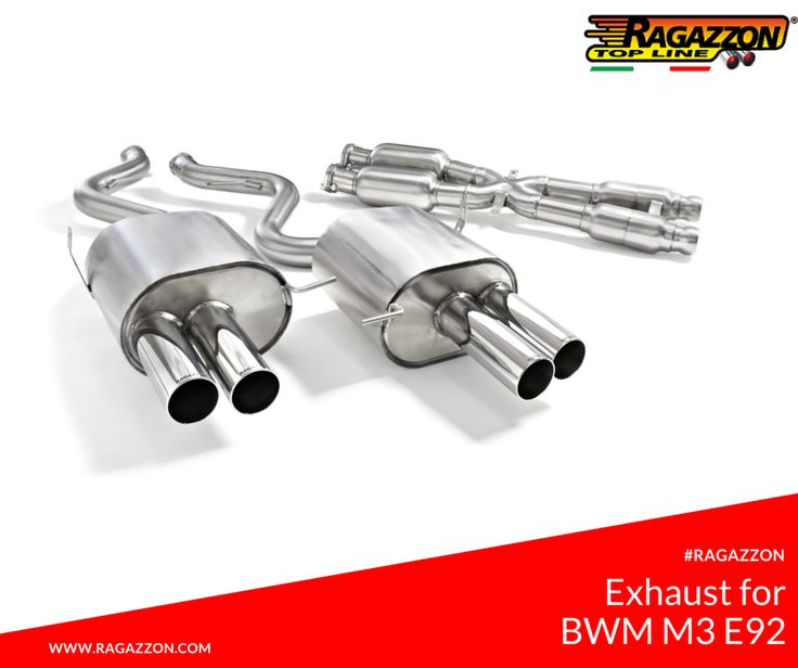 Ragazzon Exhaust for BMW M3 E92(Coupè) 4.0 V8 (309kW) - #Ragazzon #Tuning #BMW