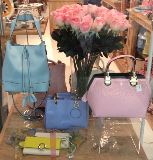Pastel handbags are trending this season. Pick one for each outfit #GardenRouteMall #pastels #handbags www.isabelina.co.za