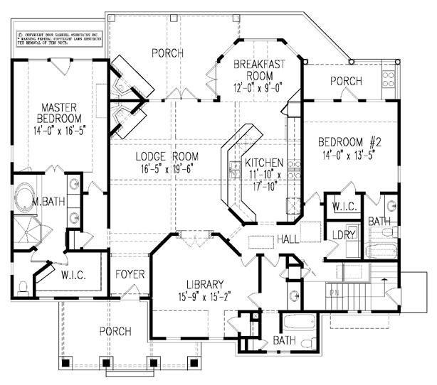 1000 images about floor plans on pinterest house plans for Cape cod open floor plan