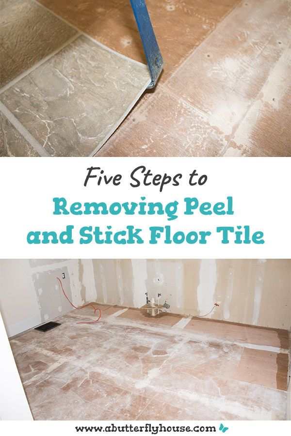How To Remove Peel And Stick Floor Tile In 2020 Peel And Stick Floor Flooring Tile Floor