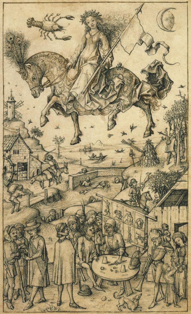 Wolfegger Hausbuch: Die Kinder des Mondes (the children of Luna)
