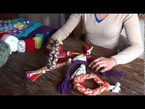 ▶ E-cursus Zelf fleece hondenspeeltjes maken - YouTube