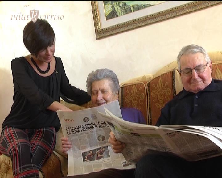 leggendo il quotidiano...
