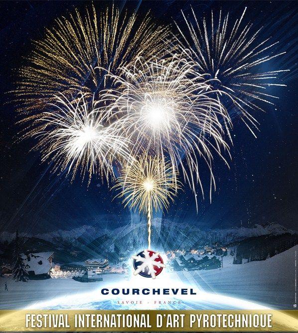 Chaque année , Courchevel organise le festival d'art pyrotechnique . Au menu, une addition de feu d'artifices à vous coupler le souffle ...et on en parle sur le blog!