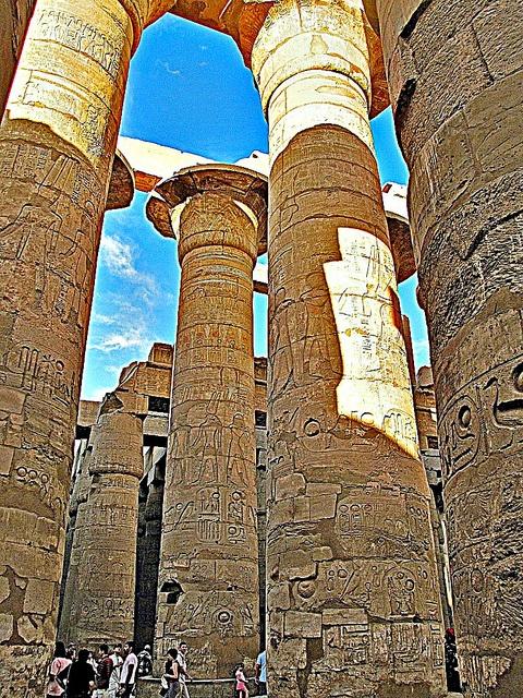 Karnak temples, Luxor, Egypt