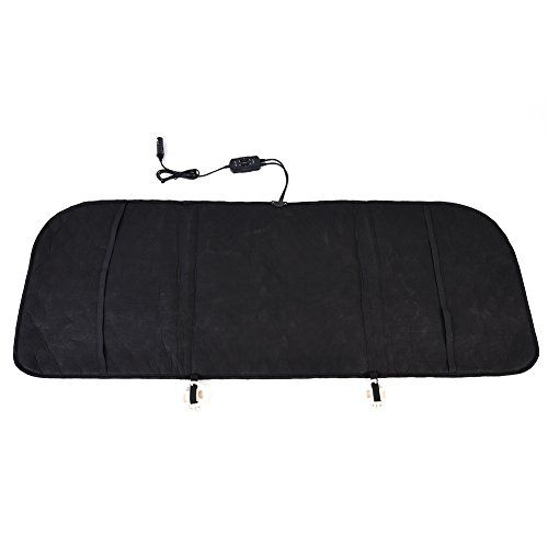 Heated Rear Seat Cushion Smart Thermostatic Car Back Seat Heating Cushion Premium Quality 12V Heating Warmer Car Rear Seat Heating Pad Perfect for Cold Weather and Winter Driving (Black). For product info go to:  https://www.caraccessoriesonlinemarket.com/heated-rear-seat-cushion-smart-thermostatic-car-back-seat-heating-cushion-premium-quality-12v-heating-warmer-car-rear-seat-heating-pad-perfect-for-cold-weather-and-winter-driving-black/