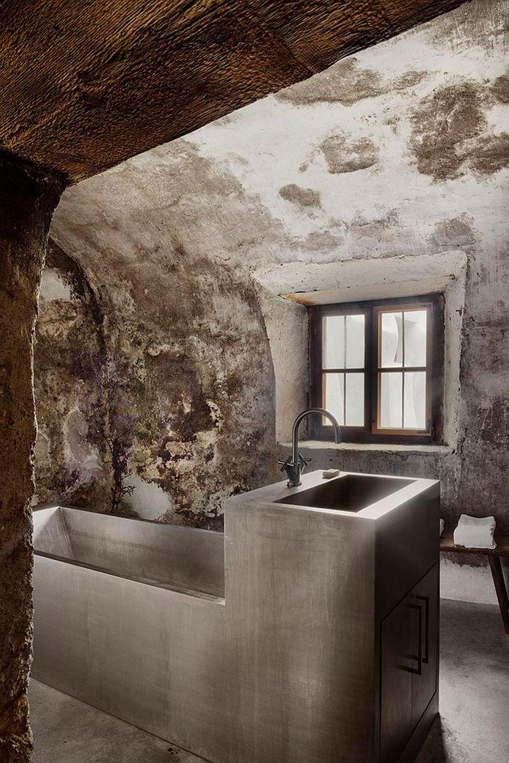 Rustic bathroom designs the key is to be bold original and - Pasea Por La Casa Suiza De Not Vital Eclectic Designrustic Bathroomsbubble