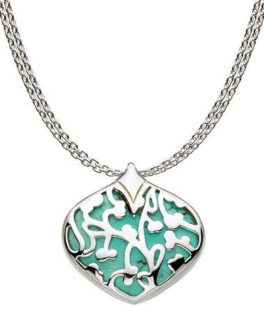 Kit Heath Turquoise Bloom Necklace #maxandchloe