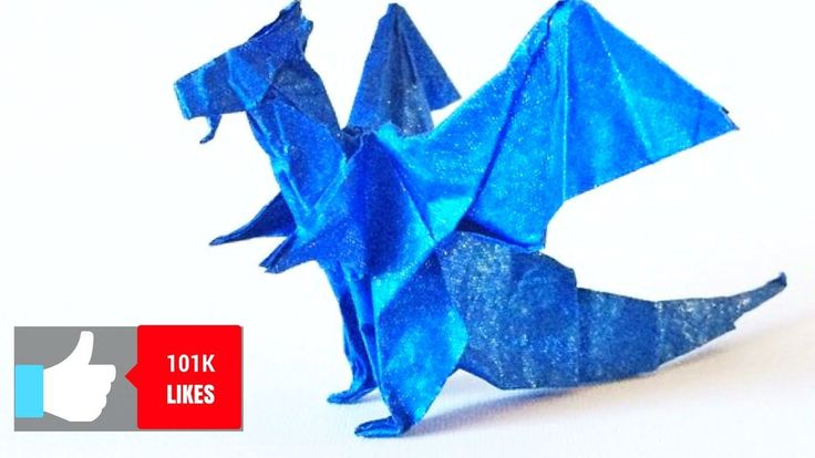 Easy Origami Dragon | How to make an easy origami dragon | Origami Fiery Dragon | Dragon De Origami https://youtu.be/mGnu9ZPYUc0