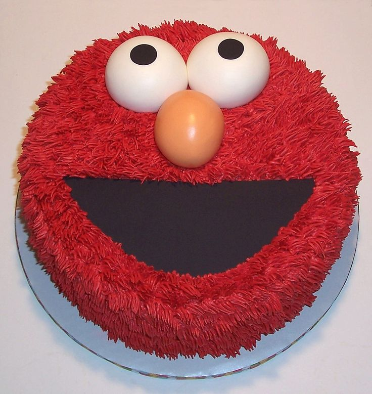 Elmo Cake Decorating Instructions : 1000+ images about Sesame Street Party on Pinterest ...