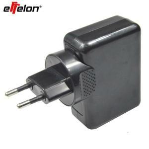 Effelon Chargeur USB 4 ports Chargeur mural universel pour USB Chargeur pour téléphone cellulaire AC Chargeur pour voyage à la maiso