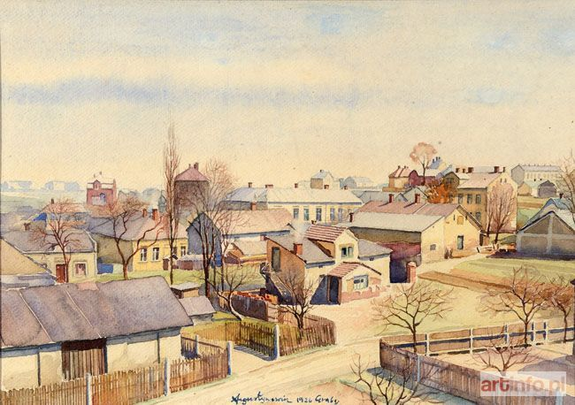 Aleksander AUGUSTYNOWICZ ● GRABY, 1926 ●