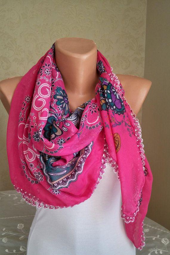 Shawl Fall Winter Scarf Trending Scarf Women Fashion Gift by imece