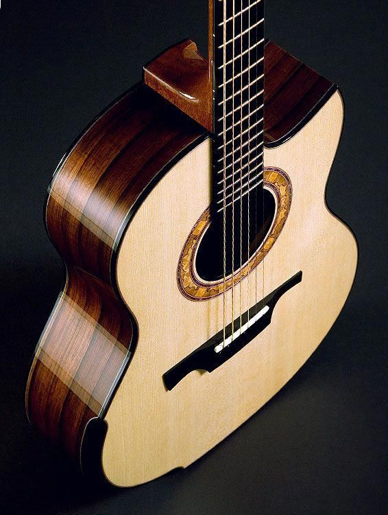 These Aesthetic Acoustic Guitars Are Really Nice New Electric