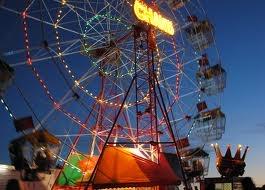 Meredith Music Festival ferris wheel