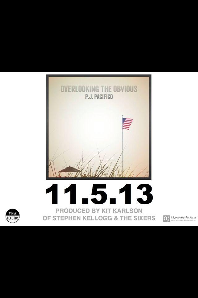 P.J. Pacifico 11.5.13 #overlookingtheobvious