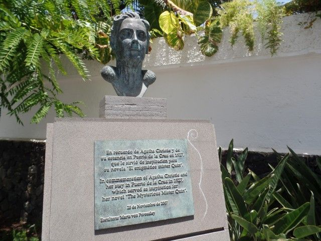 Puerto de La Cruz - La Paz - Agatha Christie