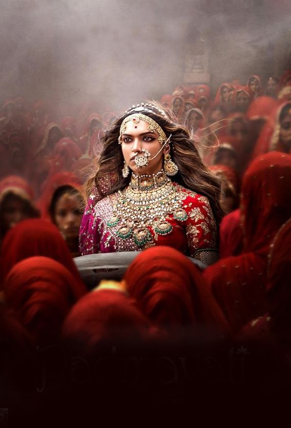 #Deepika Padukone as Rani Padmini in Padmavathi #jauhar scene