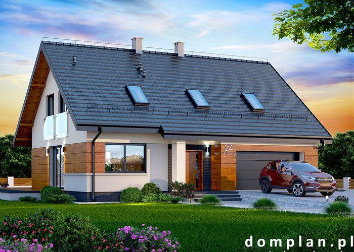 Projekt domu: Darlena