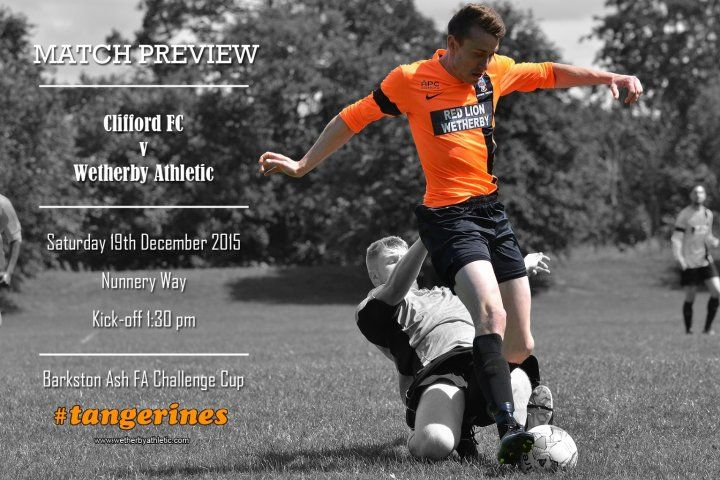 MATCH PREVIEW: Will Saturday Finally See Football Played For Athletic? http://www.wetherbyathletic.com/news/match-preview--clifford-afc-1541711.html