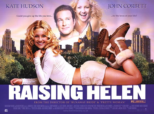 Kate Hudson and Joan Cuszak in Raising Helen... a bittersweet romance and realization of the importance of family