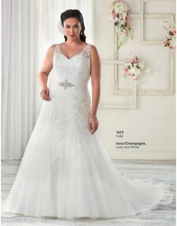 plus velikosti tylu aplikované ozdoby svatební svatební šaty