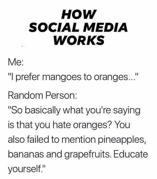 How Social Media Works Social Media Humor Memes Social Media Quotes