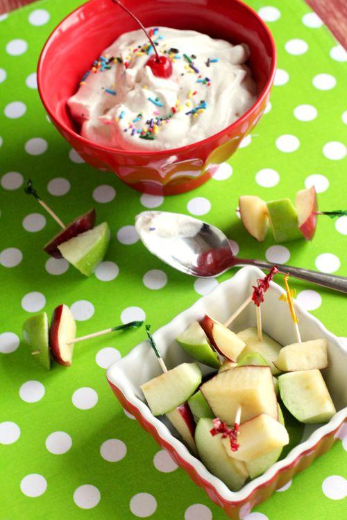 Apple fondue dip