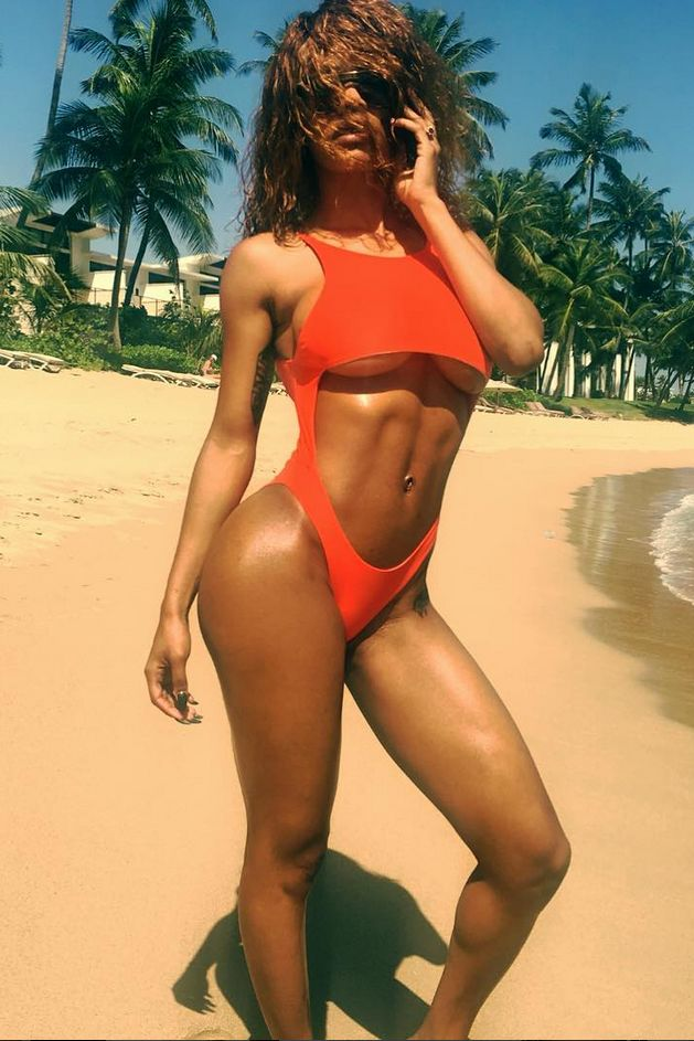 Teyana Taylor: Abs - The 20 Celebrity Women Who Are Giving Us Major Body Goals for 2017