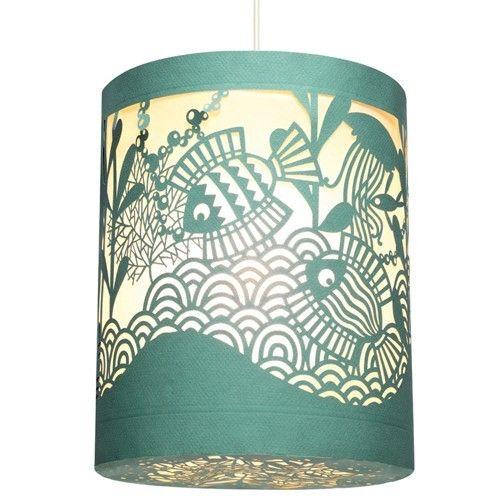 djeco, lantaarn, hanglamp, lampion, zeedieren, oceaan, zee waterkamer, ruimte, dj04644