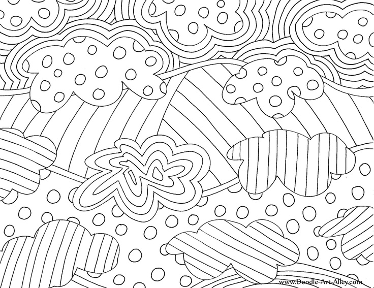 s abstract coloring pages - photo #12