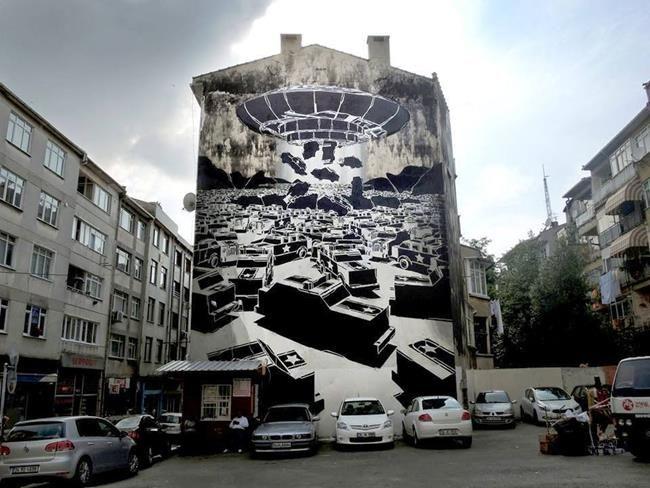 Mural İstanbul Kadıköy Sokak Sanatı Festivali 2017 Sanatçı Rehberi Sanatlı Bi Blog 4