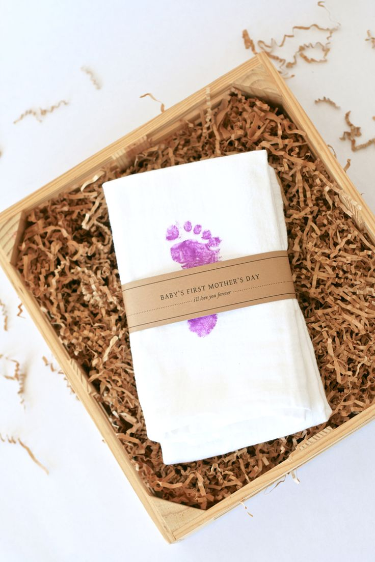 Baby's First Mother's Day Gift Idea