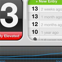 data tracking app for iphone 5