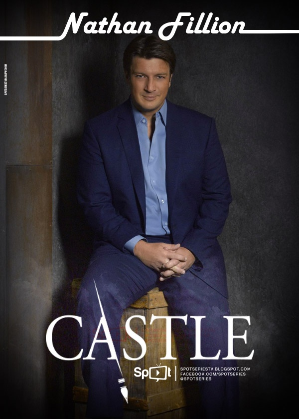 Castle, Caskett, Richard Castle, Kate Beckett, Nathan Fillion, Stana Katic, Rick Castle, ABC, Series, TV: http://spotseriestv.blogspot.com/