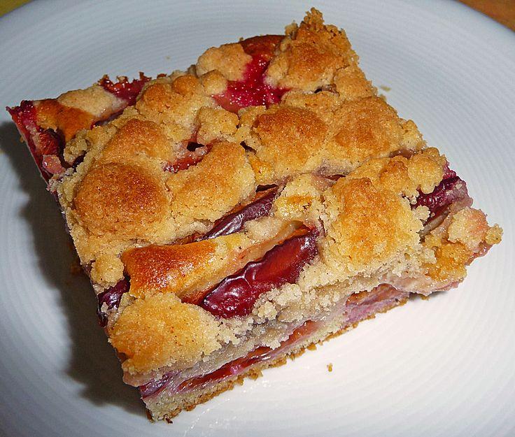 Zwetschgenkuchen mit Rührteig und Streusel, ein raffiniertes Rezept aus der Kategorie Backen. Bewertungen: 8. Durchschnitt: Ø 4,4.