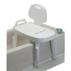 Maddak Bath Safe Adjustable Transfer Bench