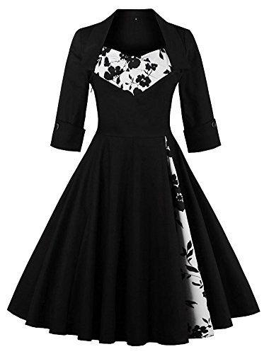 Tina Silvergray 1950s Vintage Patchwork Long Sleeve Swing Dress  https://www.amazon.com/gp/product/B01N1F63KU/ref=as_li_qf_sp_asin_il_tl?ie=UTF8&tag=rockaclothsto-20&camp=1789&creative=9325&linkCode=as2&creativeASIN=B01N1F63KU&linkId=fbdeffa51e8f3c5403d890502ebff265