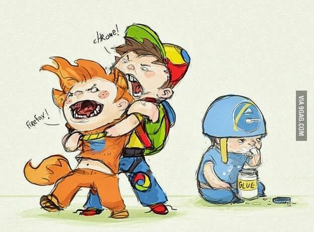 Chrome takes the cake!