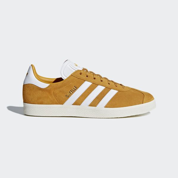 newest collection 72d63 fe8df Gazelle Shoes Collegiate Gold  Running White  Cream White CQ2801